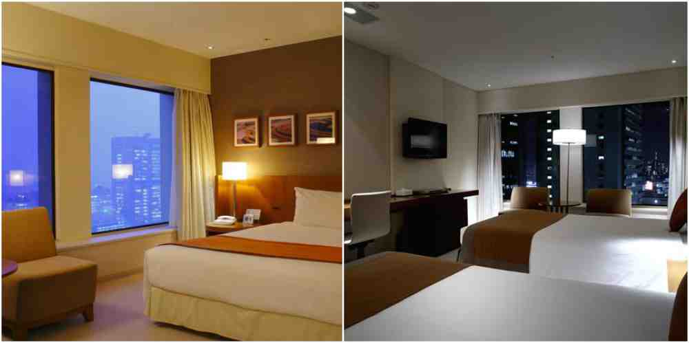 Keio Plaza Hotel Tokyo-decorative appearance-room view-東京-新宿-住宿推薦